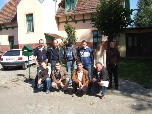 Gründungsmitglieder am 13.09.2008 in Straupitz